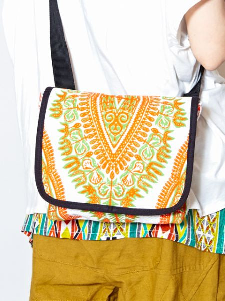 Dashiki Pattern Shoulder Bag-Bags & Purses-Ametsuchi