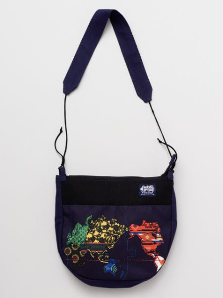 World Map Shoulder Bag