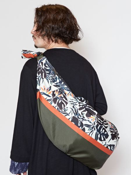 Botanical Pattern Shoulder Bag L