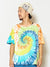 Tie Dye & Ethnic Motif Men 's T Shirt