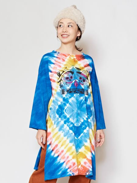 CALAVERA Tie Dye Midi Dress