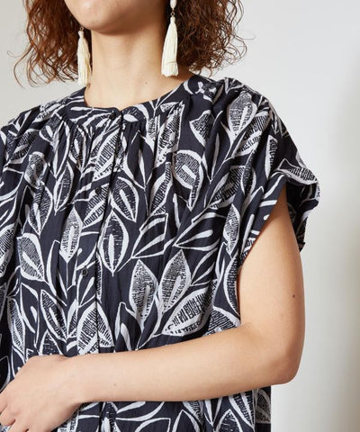 French Sleeve Blouse-Ametsuchi