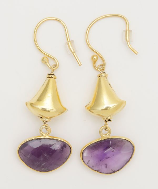 Anting Amethyst KACHINA