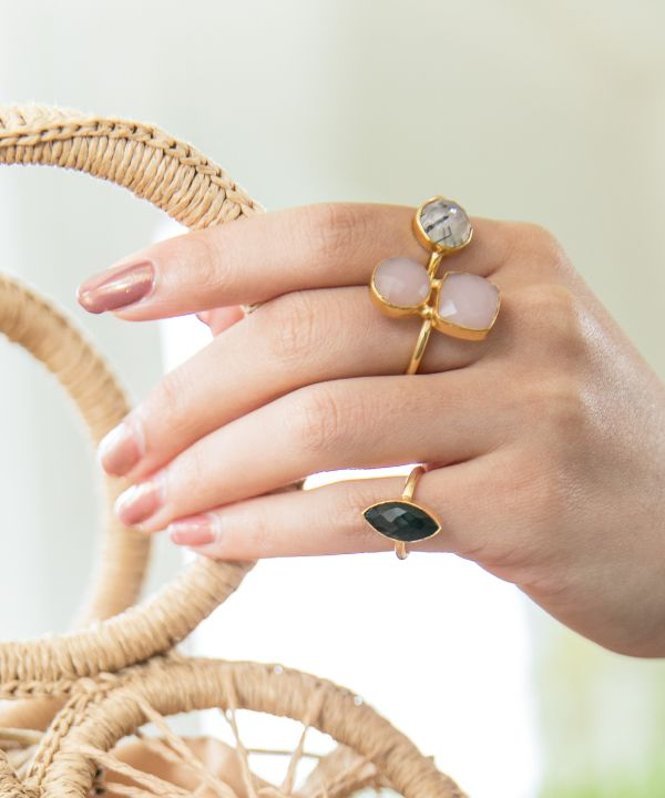 CATHEDRAL Pink Ring-Rings-Ametsuchi
