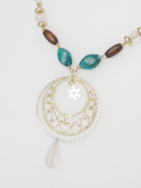 FILIGREE Star Necklace-Necklaces-Ametsuchi