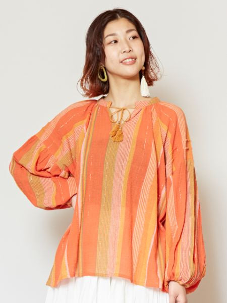 Southern Indian Stripe Top