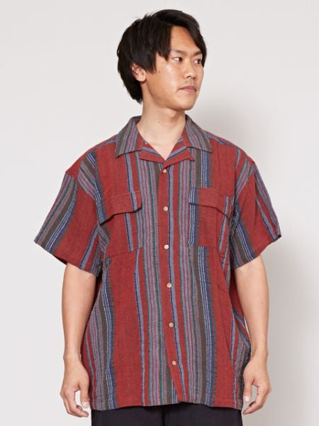 Baju Cotton Stripe-Ametsuchi