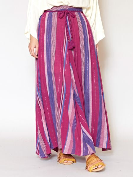 Southern Indian Stripe Skirt