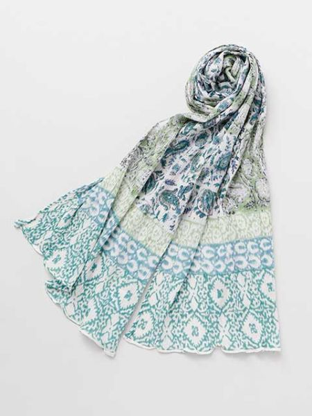 Block Print Cotton Stole