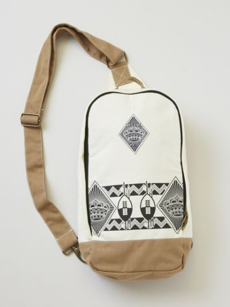 African Motif Inspired Shoulder Bag