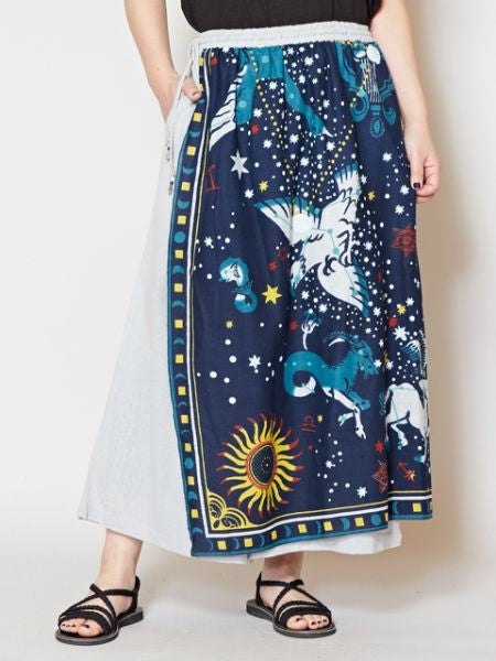 Pantalon portefeuille Summer Constellation