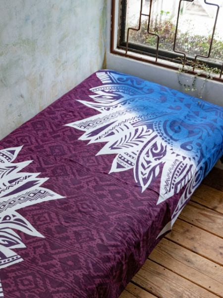 Navajo Feather Pattern Bed Cover | Multi Cloth