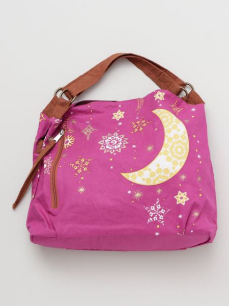 Night Sky Printed Tote Bag