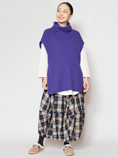 Rib Knit Turtleneck Top