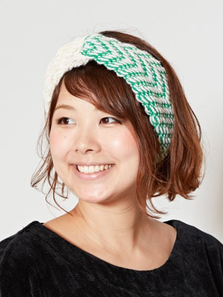 Volume Knitted Hair Band-Ametsuchi