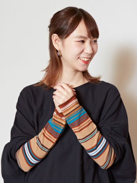 Stripe Arm Cover -Gloves-Ametsuchi