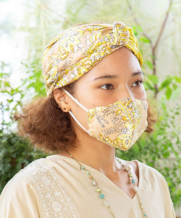Triple Layered Gauze Cotton Mask-Others-Ametsuchi