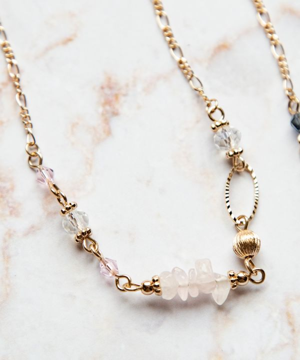 Pebble Gems Necklace