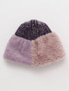 Bi-Color Fur Beanie