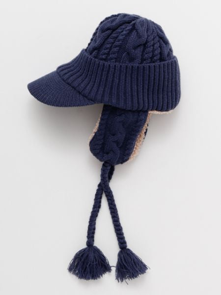 Boa Knit Flight Cap