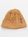 Cable Knit Beanie-Caps & Hats-Ametsuchi