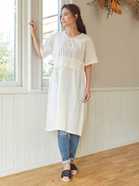 French Lace Inspired Dress-Ametsuchi