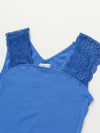 Spanish Tile Pattern Embroidery Tank Top