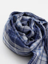 Reversible Plaid Stole-Scarves-Ametsuchi
