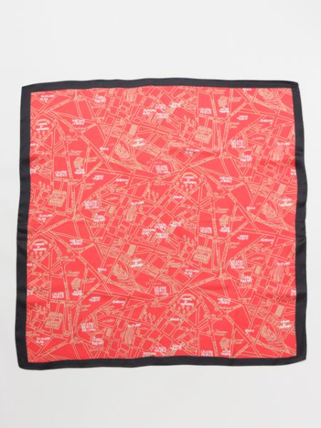Map Scarf-Scarves-Ametsuchi