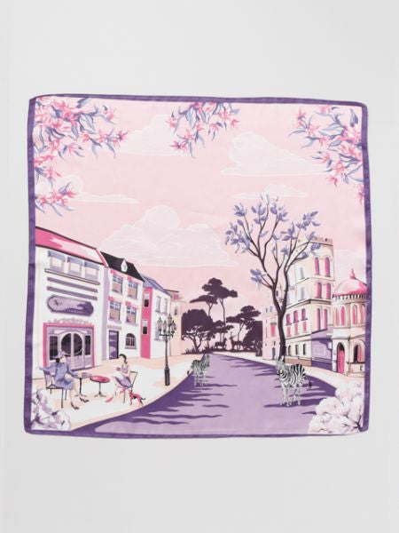 Europe Townscape Scarf-Ametsuchi