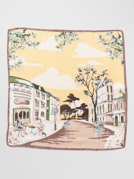 Europe Townscape Scarf