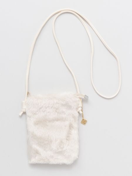 Faux Fur Minimalist Shoulder Bag-Bags & Purses-Ametsuchi