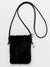 Faux Fur Minimalist Shoulder Bag