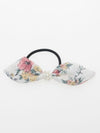 Retro Flower Ribbon Hair Band-Ametsuchi