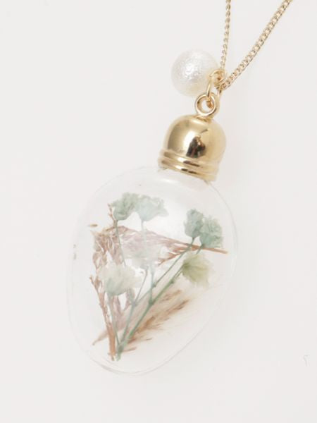 Flower Bottle Necklace
