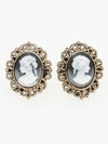 CAMEO Style Earrings-Ametsuchi