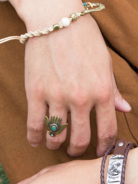 Native American Motif Ring