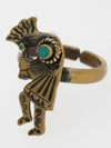 Native American Motif Ring-Ametsuchi