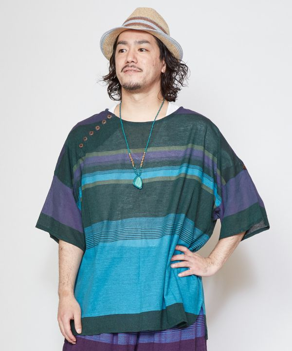 Nepalese Cotton Men's Slouchy Top