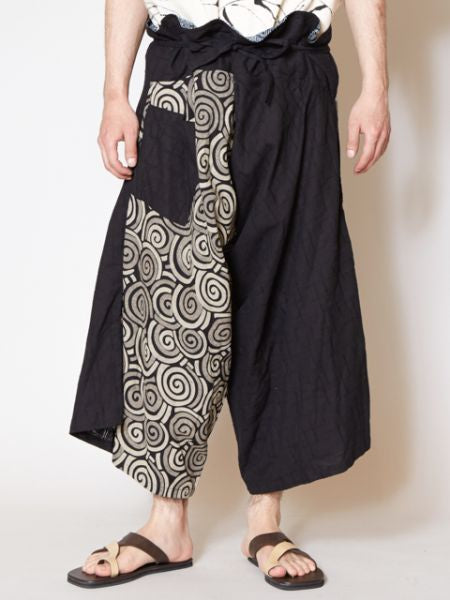 Playful Boho Men's Harem Pants-Pants & Shorts-Ametsuchi