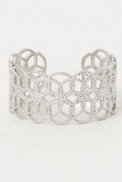 Metal Lace Ring-Ametsuchi