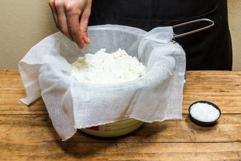 Urban Cheesecraft ricotta recipe and kit
