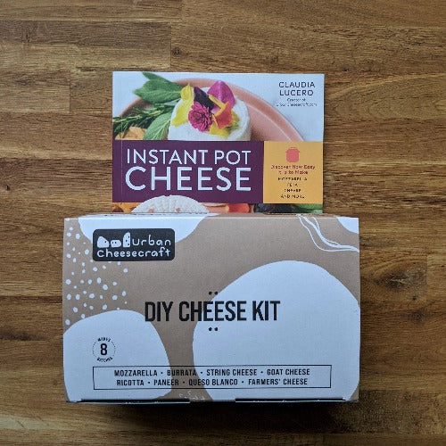 Bundle - Instant Pot Cheese Book and Deluxe Cheese Kit