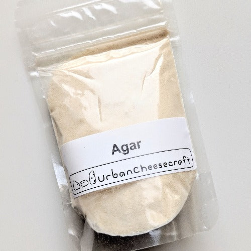 Refill supply - Quick-Set Agar Powder (for dairy-free cheesemaking)