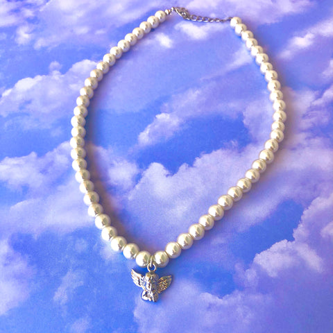 Angel Baby Pearl Necklace