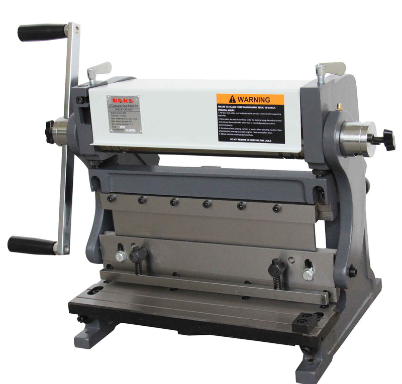 KAKA 305mm 3-In-1/305 Sheet Metal Brake,  Solid Construction, High Precision Sheet Metal Brakes