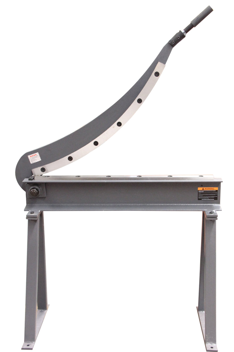 KANG  800MM Manual Guillotine Shear, Sheet Metal Plate Cutting Shear with Stand HS-800