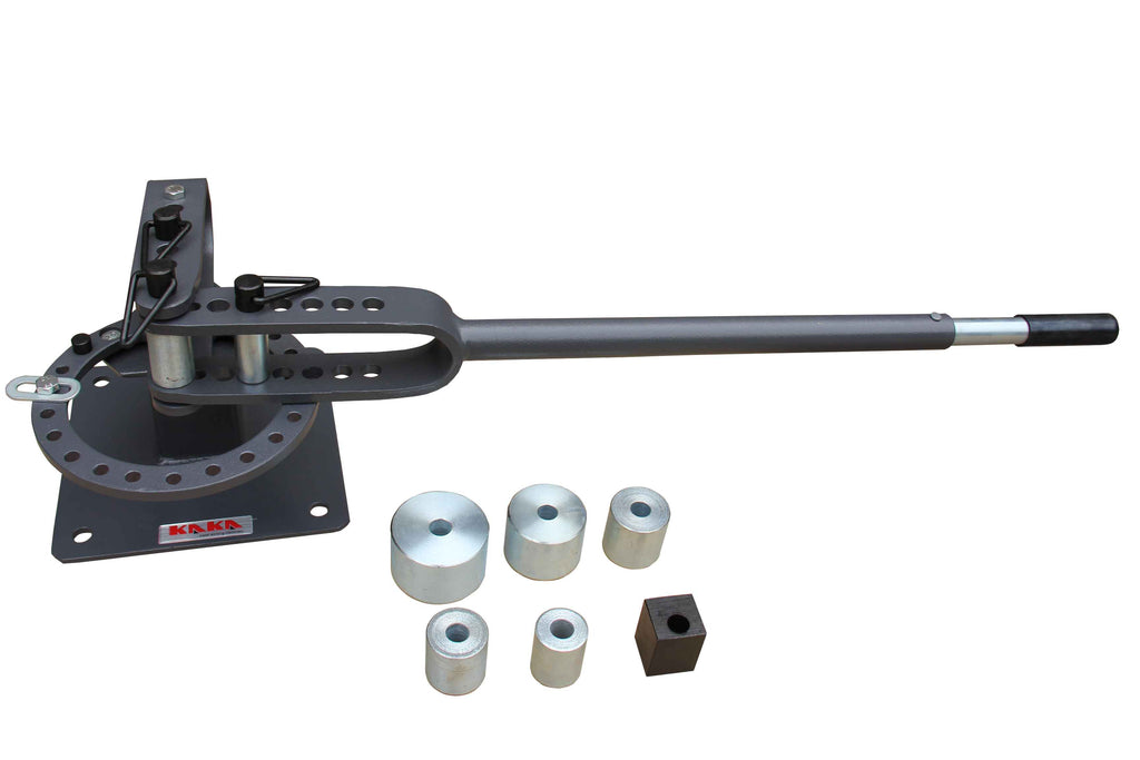 KAKA Industrial YP-9 Bench-Top Metal Bender, Sturdy and Light Weight  Compact Metal Bender with 7 Dies