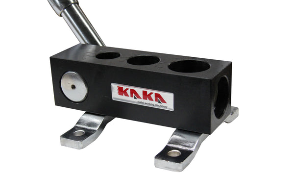 "KAKA Industrial RA-2 Manual Tube Notcher, 3/4"", 1"", 1-1/4"" Light Weight, High Precision Tubing Notcher …"