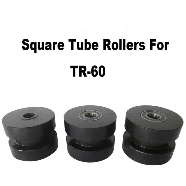 Square Tubing Roller Dies, Compatible With Kaka Industrial Tube Roller TR60